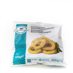 Mustekalarengas leivitetty 500 g Pakaste